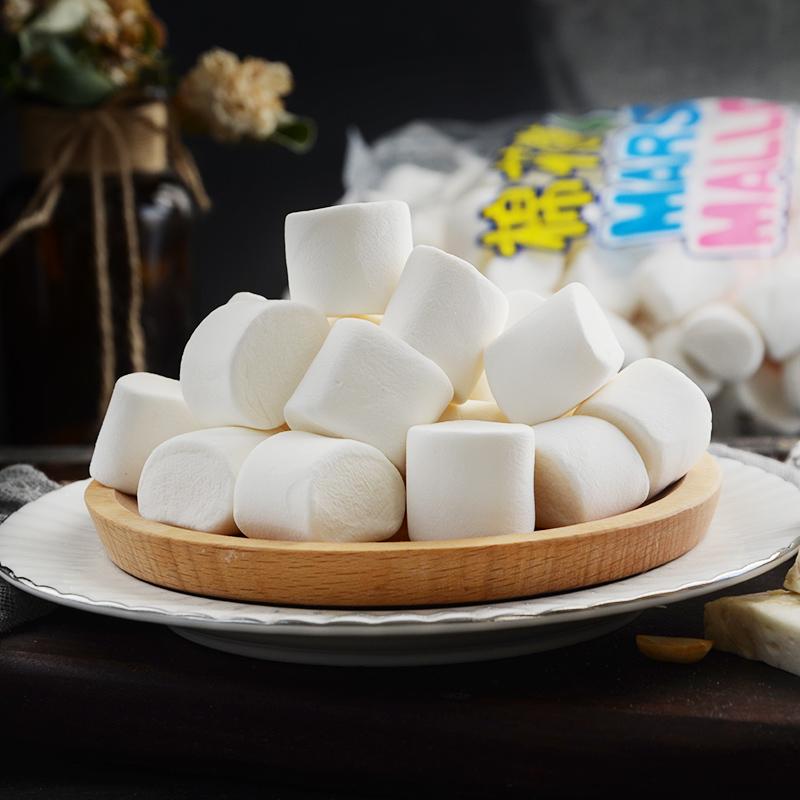 【喜多多园】白棉花糖原味90g