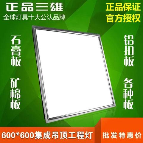 棉板铝扣石膏板工程灯