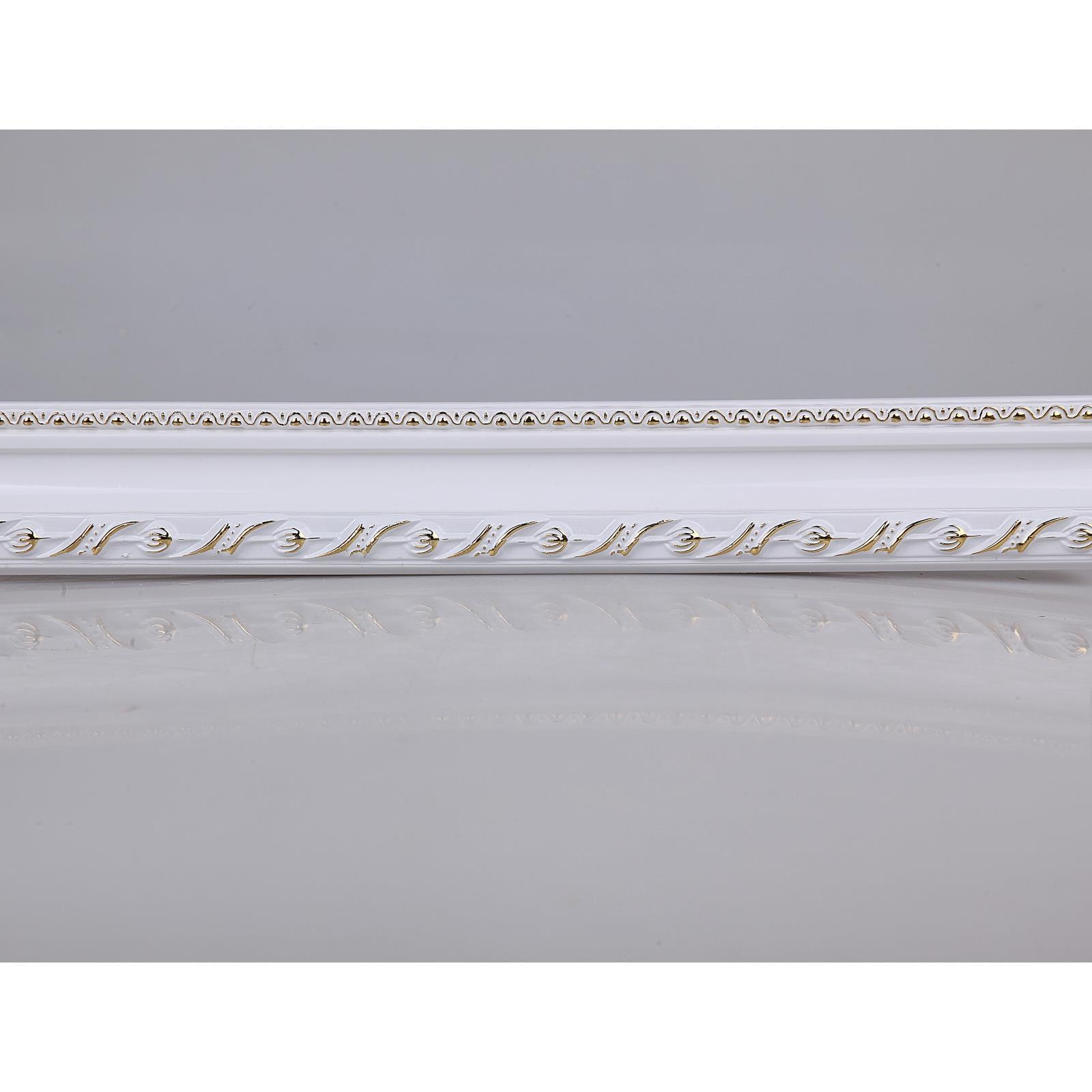王斌相框 线条实木欧式 4-6cm十字绣钻石画穿衣镜框条 3098系列