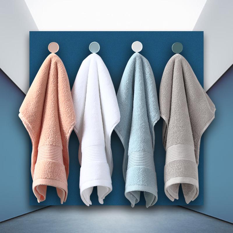 纯棉毛巾情侣擦脸面巾家用柔软吸水成人可爱洗澡洗脸巾小男女全棉