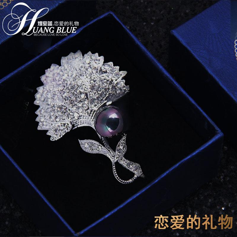 欧美气质新品胸针日韩版教师节礼物百搭蒲公英胸花女士别针配饰品