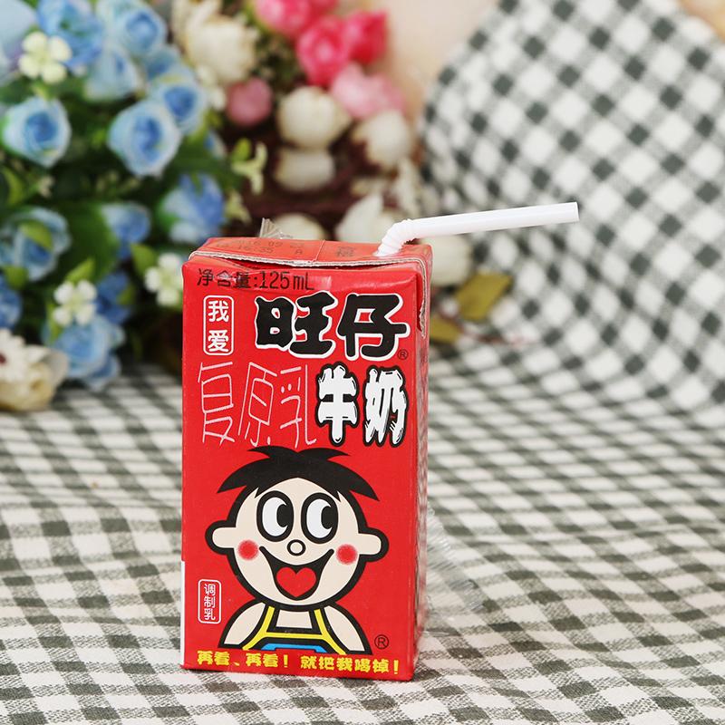 旺仔牛奶饮料(调制乳)125ml*18包/箱高清大图