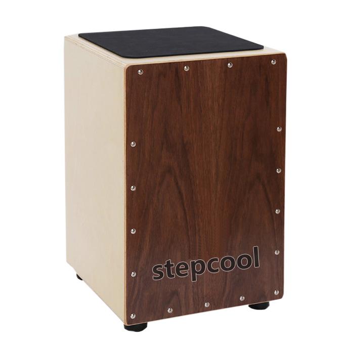 实木打击木箱鼓手拍鼓便携儿童木箱架子鼓乐队打击乐器箱鼓卡宏鼓