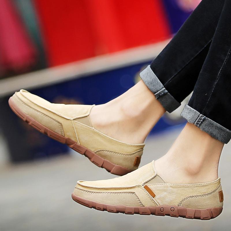 47 懒人 46 防臭 45 老北京牛筋底加大码布鞋子 48 一脚蹬夏日休闲帆布鞋