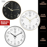 TIMESS/Wall Clock Clock Living Room Clock Home Fashion Creative Hanging Watch Free PunchIng Wall Simple Quartz Clock