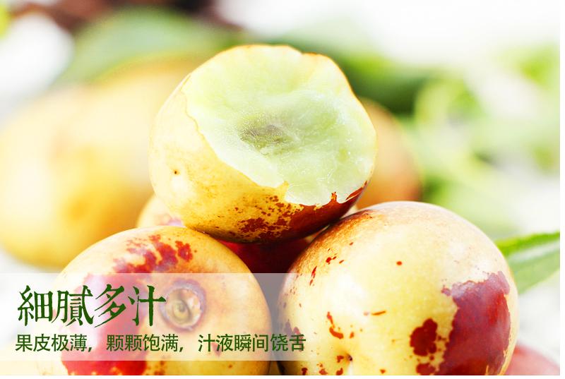 黄骅新鲜冬枣 脆甜鲜大枣包邮沧州5斤现货新鲜水果非沾化大荔冬枣
