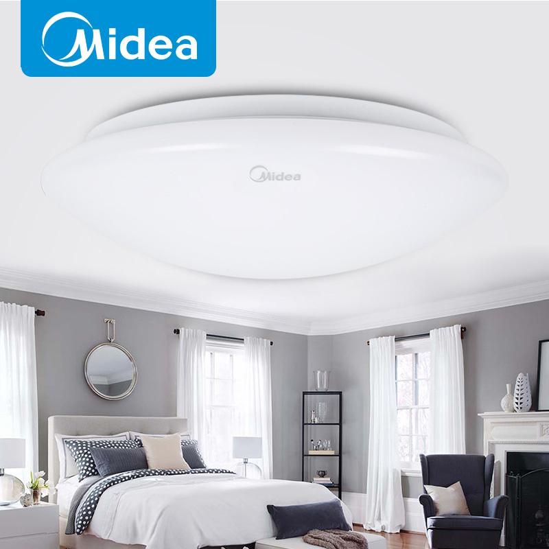 吸顶灯具主卧室房间厕所卫生间入户室内普通圆灯全白 led 照明 美