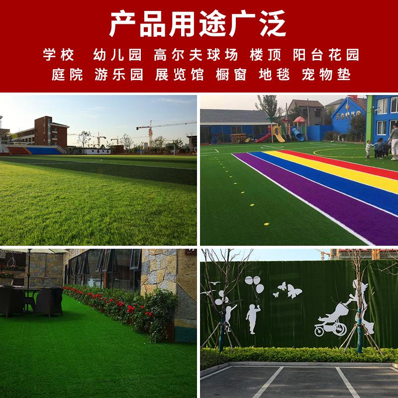 仿真草坪地毯垫子绿色人工塑料假人造草皮装饰户外绿植围挡非真草