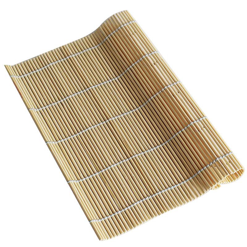 家用做寿司的工具材料专用竹帘卷制作紫菜包饭帘子竹签帘不粘卷帘