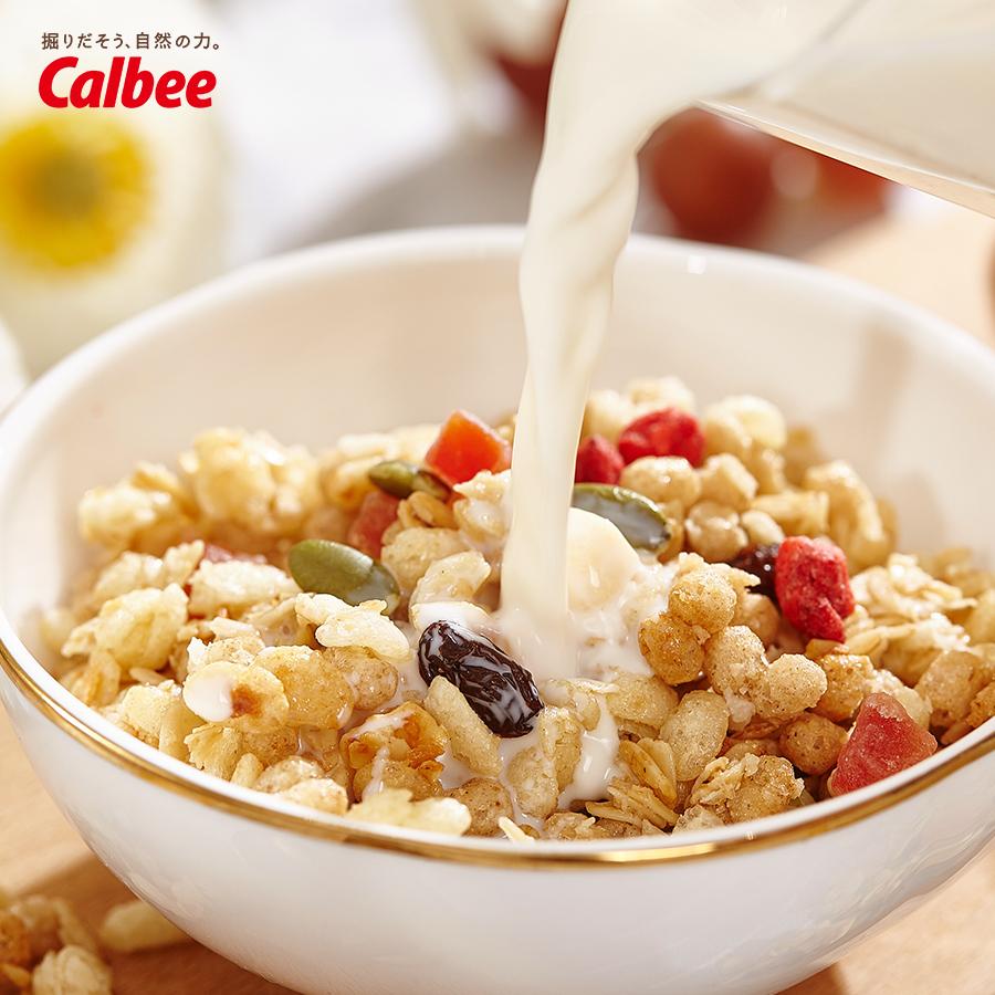 卡乐比水果麦片日本进口营养谷物早餐燕麦即食营养冲饮代餐燕麦片