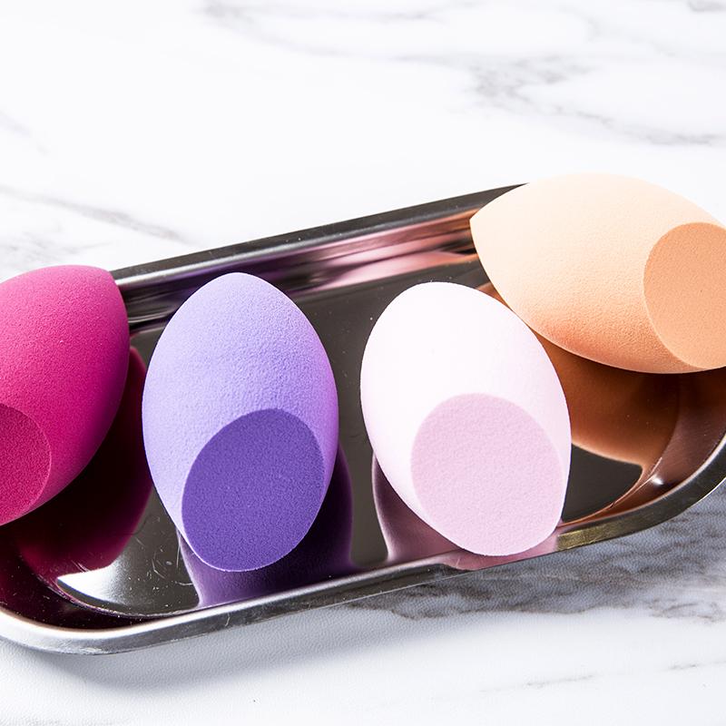 色美妆蛋海绵非乳胶美妆蛋彩妆美容化妆工具 4 方恰拉推荐
