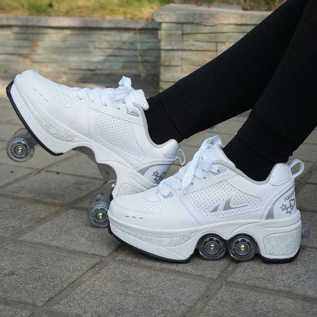 Agloat deformed shoes roller skates