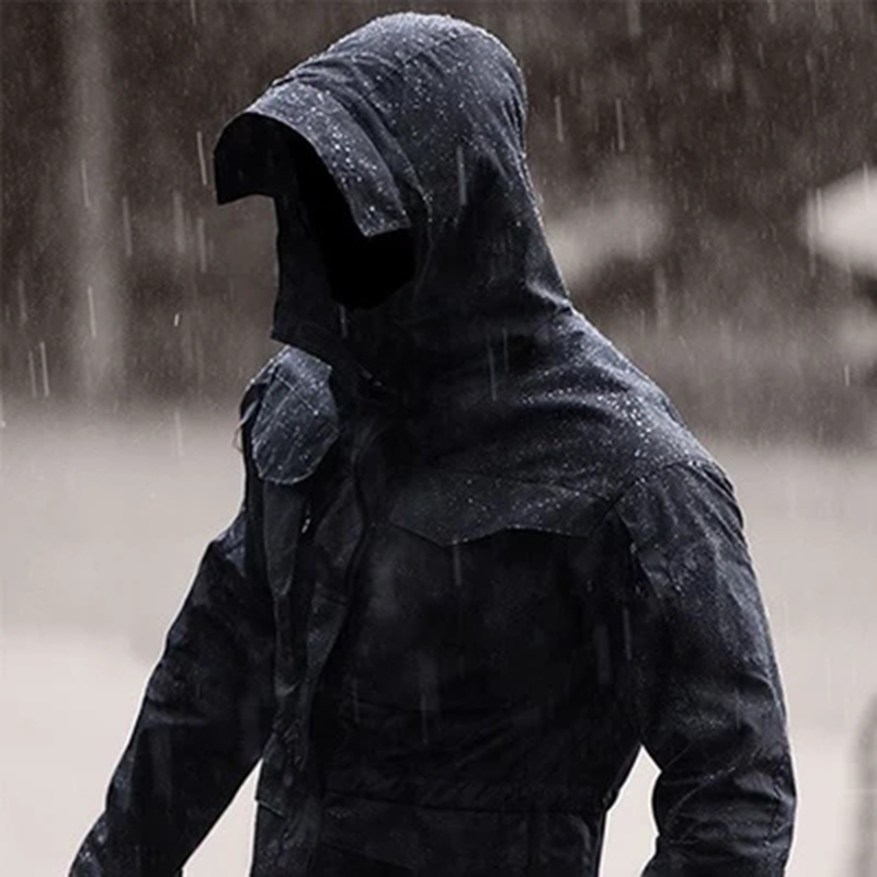 軍迷男士戰術風衣外套 春秋戶外中長款防風防水透氣M65特戰衝鋒衣