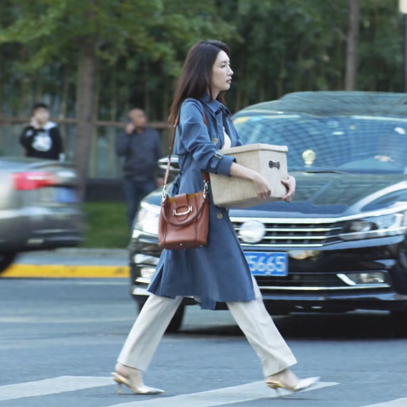 三十而已江疏影王漫妮同款衣服韩版宽松中长款气质显瘦风衣外套女