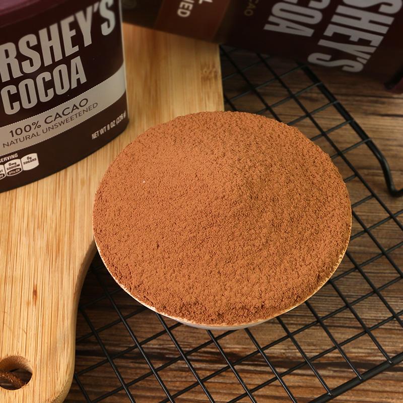 好时低糖可可粉226g 美国进口 冲饮巧克力蛋糕烘焙原料 提拉米苏