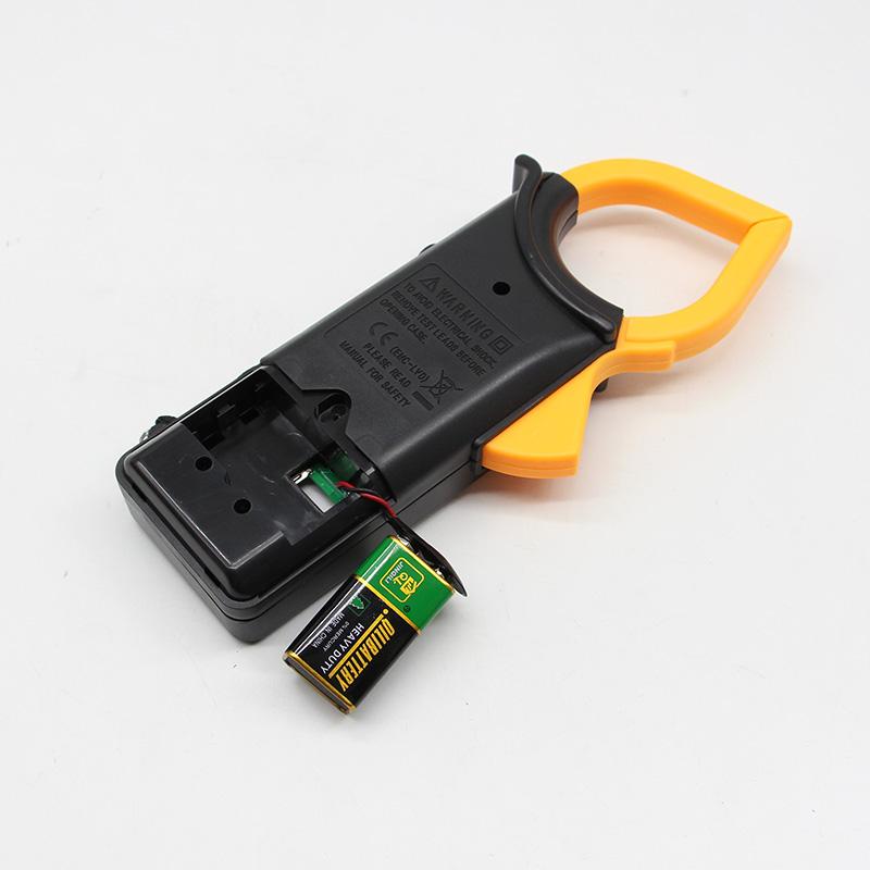 数字交流大型钳形表万用表 数显钳形电流表DT266 带蜂鸣万能表