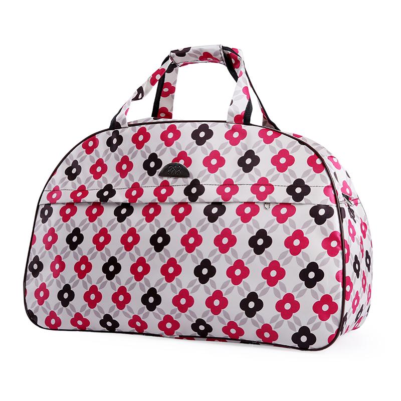 防水轻便行李包袋斜跨大包 韩版大容量手提旅行包