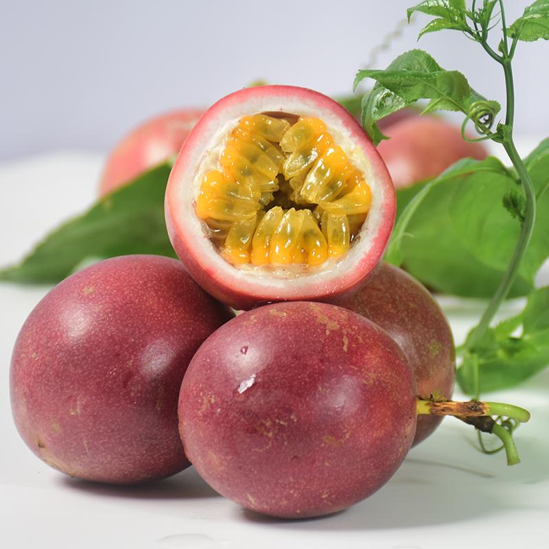 广西百香果6水果新鲜特级大果5斤中果皱花皮果酱浆一级当季整箱10【图4】