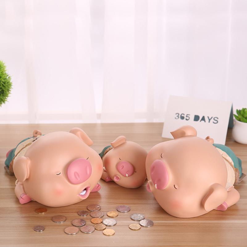 天小猪存钱罐不可取大容量储钱儿童防摔储蓄大号超大 365 创意网红