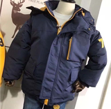Children's Jackets men and children plus thick velvet ski wear big virgin boys autumn and winter warm thick quilted jacket