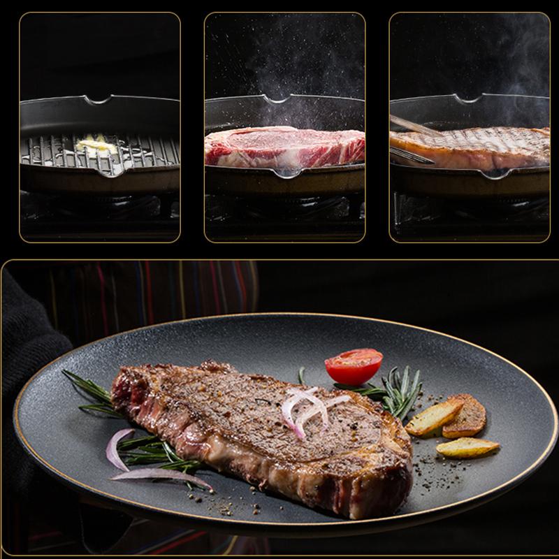 农夫好牛西冷牛排套餐黑椒牛扒家庭装10片新鲜进口肉源整切牛肉20