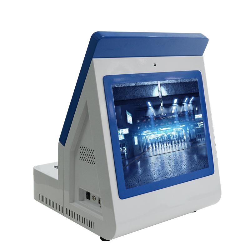 新疆门卫登记系统双屏访客一体机登记管理系统校园排队叫号机新品