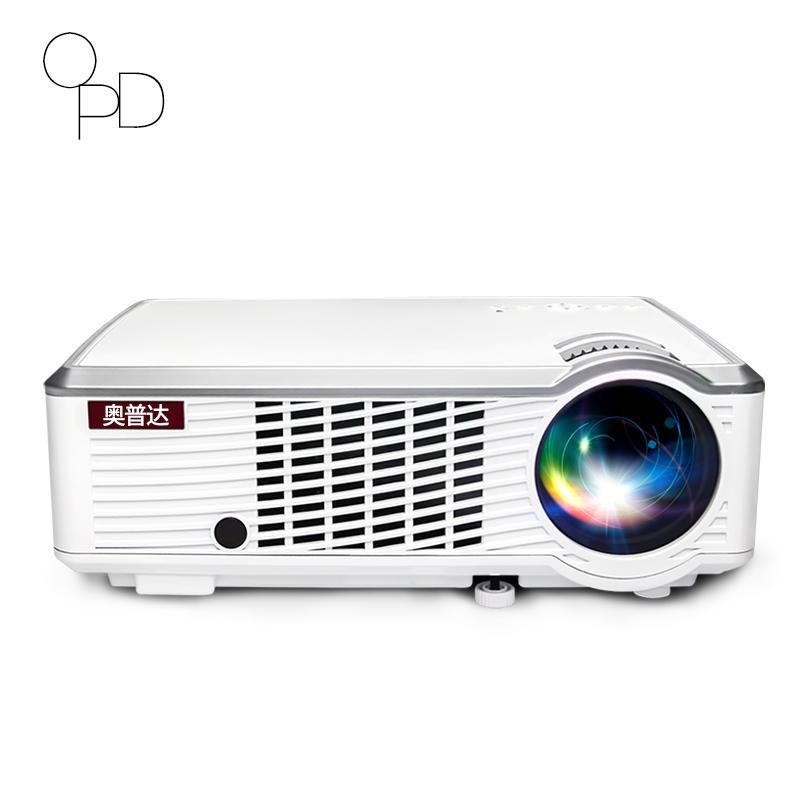 奥普达HK10投影仪家用小型办公投影机高清1080p无线wifi手机投影家庭影院