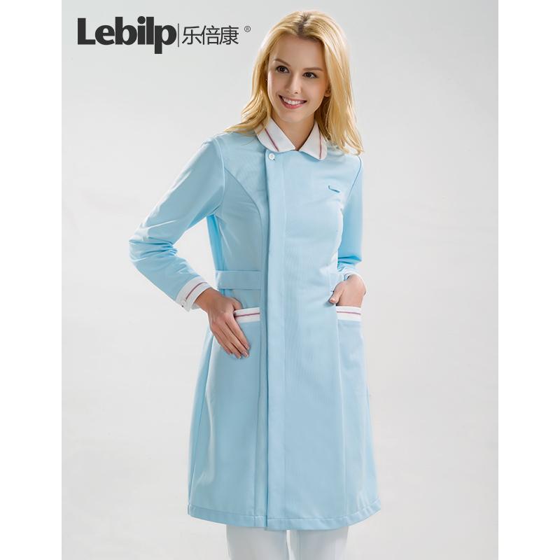 乐倍康医院护士裙装女牙科药店护士服连衣裙 整形美容院工作服