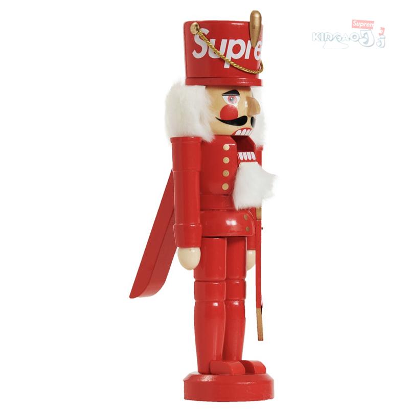 玩偶 胡桃夹子 坚果钳子 圣诞礼物 Nutcracker 19FW Supreme 途中