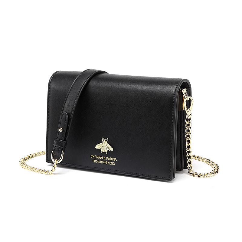 单肩斜挎小包女法国小众链条包包洋气小方包 2020 香港正品女包新款