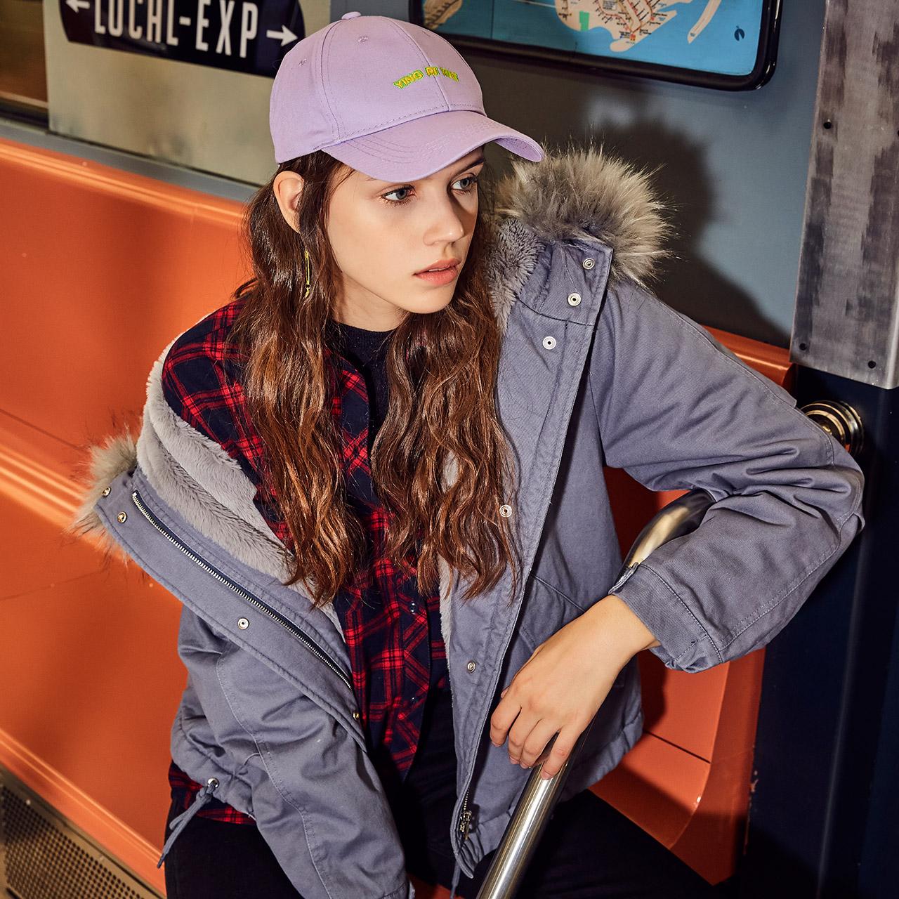 羽绒棉服女2018新款秋冬装韩版学生小棉袄加厚面包服短款棉衣外套
