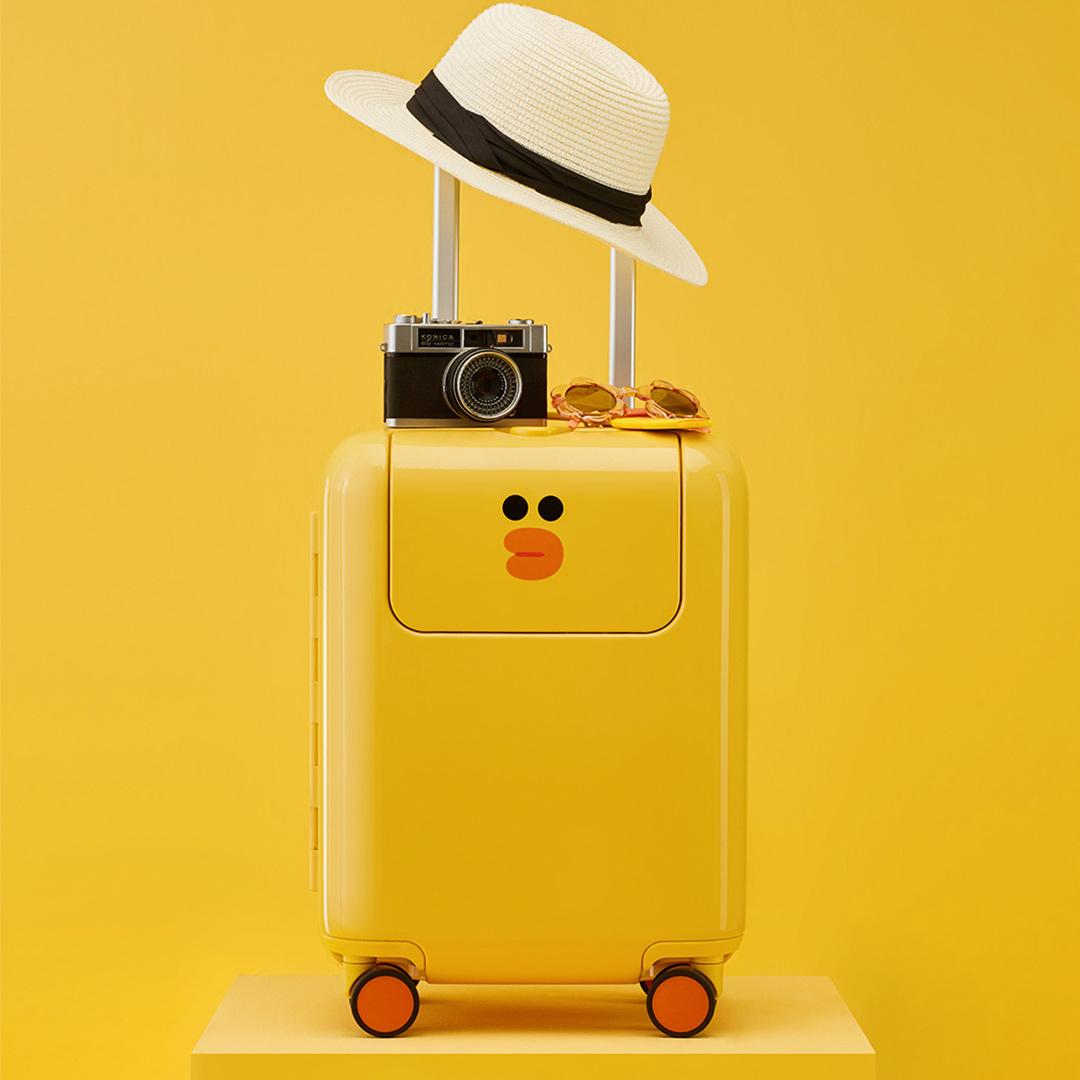 寸行李箱 24 寸 20 儿童学生 line 寸小米旅行箱 17 米兔拉杆箱莎莉限量款