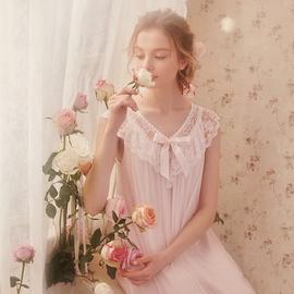 RoseTree公主睡裙女夏冰丝薄款蕾丝吊带睡衣可爱甜美莫代尔睡衣裙