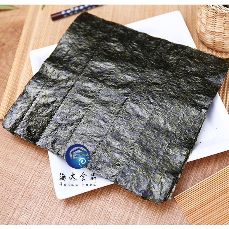 送竹 片包邮 50 海达屋寿司海苔紫菜包饭寿司专用食材料理