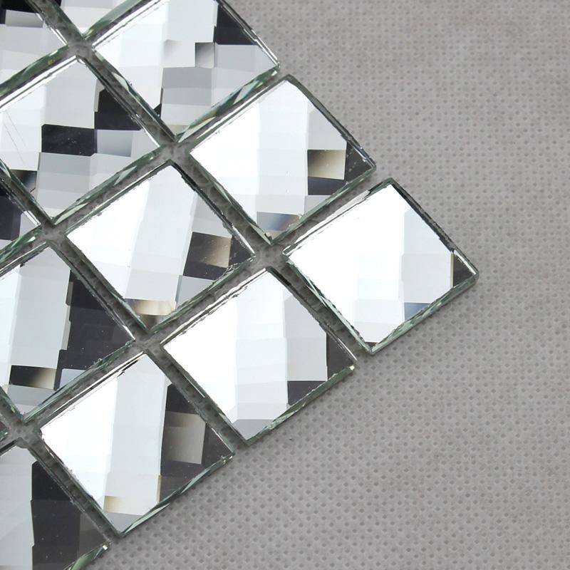 13面银镜 马赛克 磨边镜 建材 瓷砖 墙贴 背景墙 墙砖 玻璃马赛克