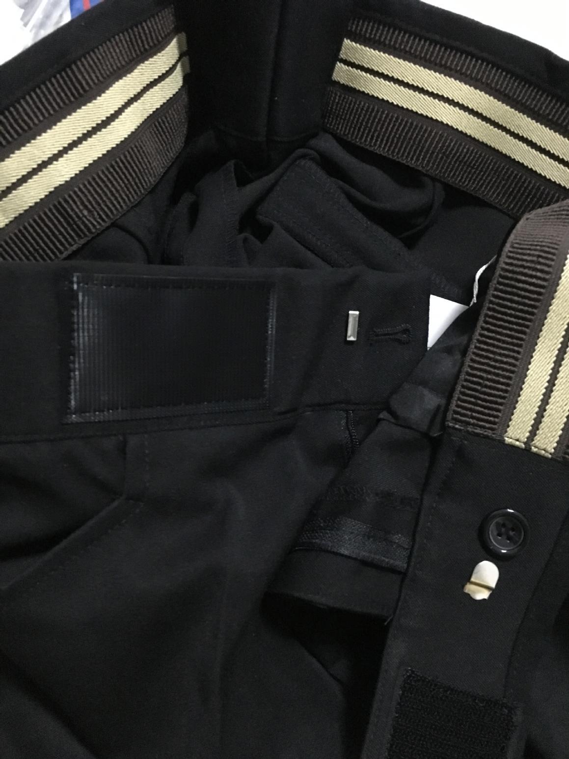 篮球裁判服裤子 新款高腰免皮带无LOGO设计 大魔术贴带纽扣 包邮