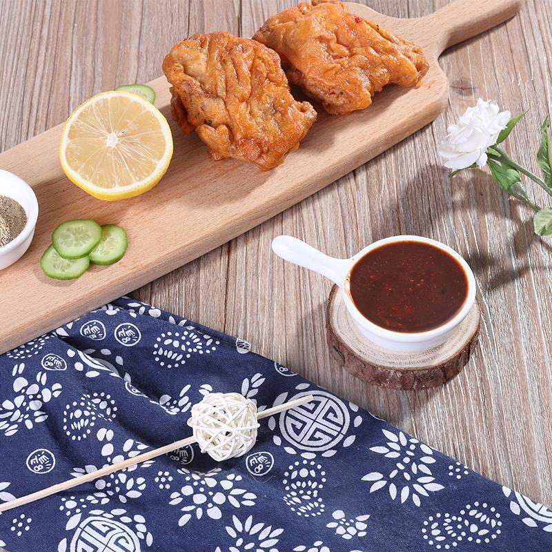 随乡 烧烤酱 辣椒酱110g*5袋香辣/黑胡椒/孜然味调料韩国烤肉蘸酱