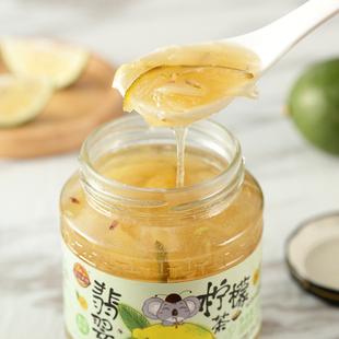 金日禾野蜂蜜柚子茶冲饮罐装柚子茶