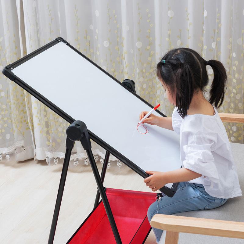 画画板支架式家用幼儿童小黑板墙贴宝宝学写字磁性笔可擦挂式白板