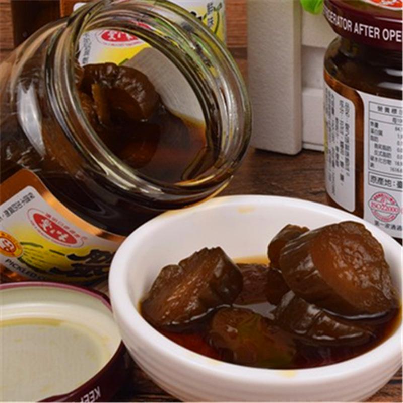 台湾进口咸菜酱菜开胃菜下饭菜 爱之味鲜味脆瓜 咸菜小黄瓜酱瓜