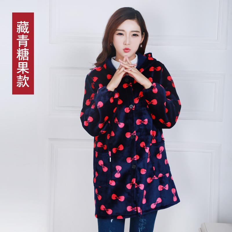 围裙长袖拉链罩衣女全身成人韩版时尚厨房护衣不防水工作服包邮