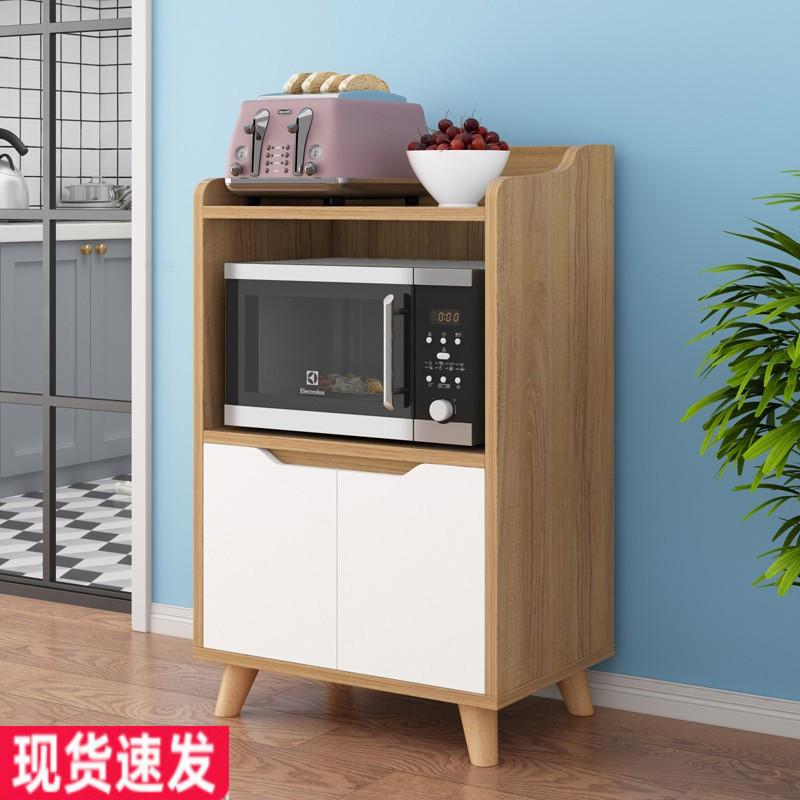 实木餐边柜餐厅微波炉柜子厨房储物柜客厅茶水柜家用小电器烤箱柜