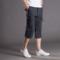 夏季新品薄休闲七分裤男宽松运动短裤大码短裤男士工装7分裤潮流