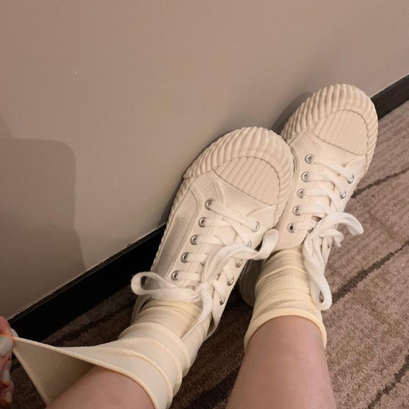 夏季薄款天鹅绒韩国冰冰袜卷边堆堆袜糖利色 潮袜中筒网红纯色  ins
