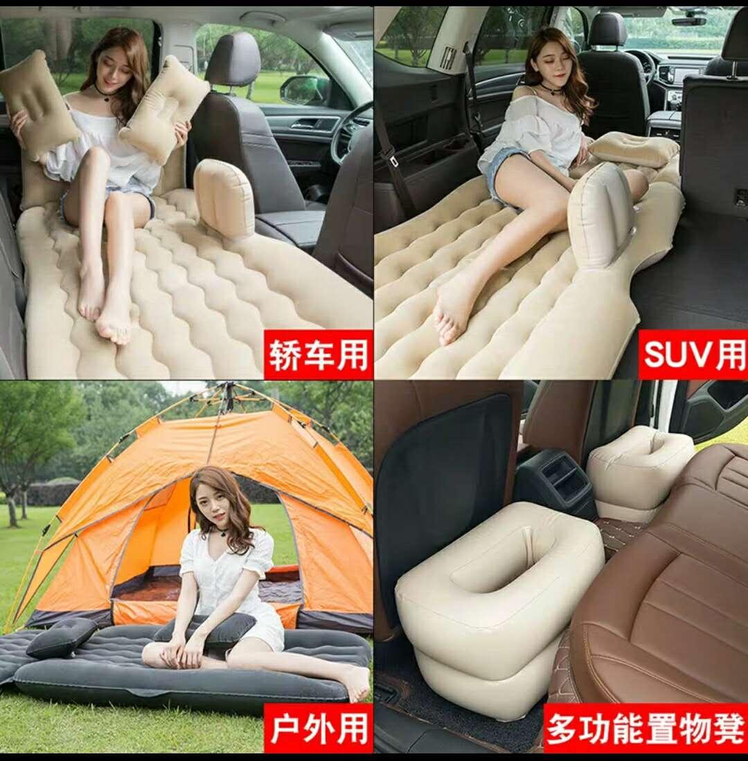 后排旅行床垫车内睡觉神器通用 suv 车载充气床汽车后座气垫床轿车