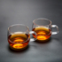 Shuizhiming Thicken Heat-resistant Transparent Small Tea Cup Tea Cup Tea Cup Flower Tea Cup Master Cup Household Tea Set