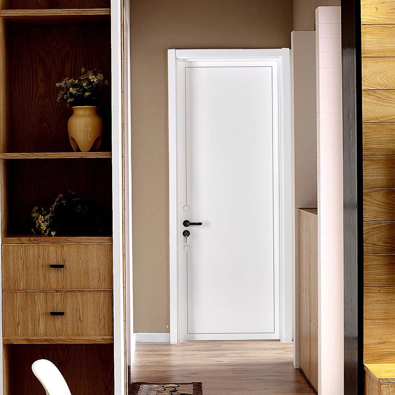 SKF木门 现代简约室内隔音门 实木复合烤漆套装门 全屋定制卧室门
