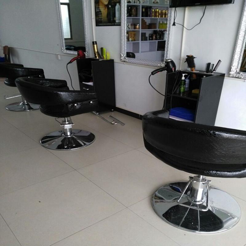 新款美发椅可旋转理发椅升降理容椅发廊专用剪发椅子厂家直销