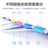 Color long tail clip large, medium and small black dovetail clip folder stationery student book clip test paper clip office supplies Daquan metal small ticket fixed clip office ticket holder wholesale