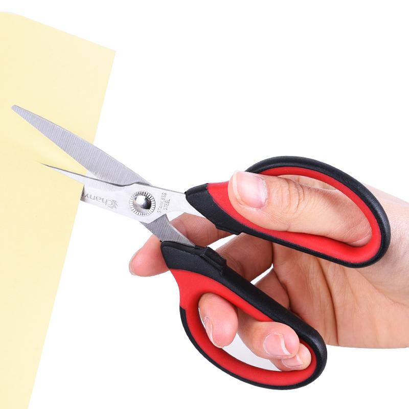创易剪刀大中小号手工课美工刀办公文具家庭用品学生儿童剪子圆头